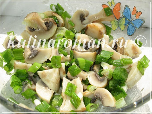быстрый рецепт маринованных грибов