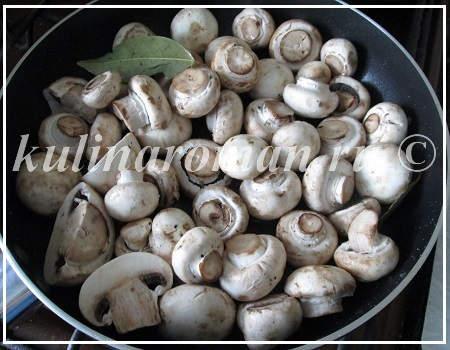 маринуем грибы по быстрому