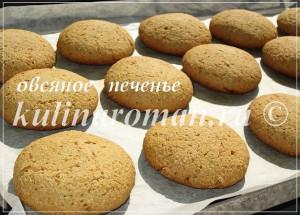 вкусное печенье из овсянки