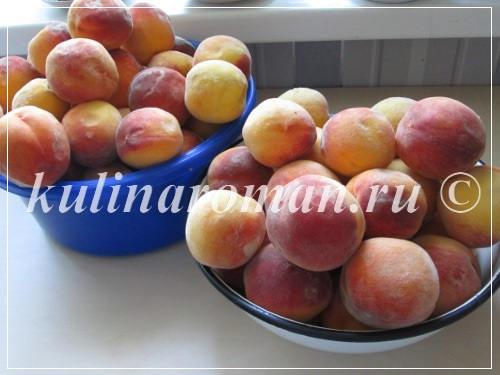 что приготовить из персиков на зиму