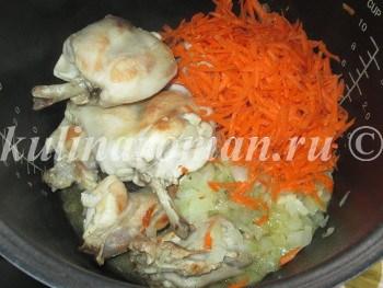 тушеный кролик с овощами