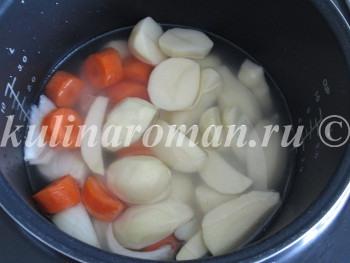 кремовый суп из картофеля