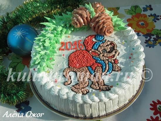 торт обезьяна