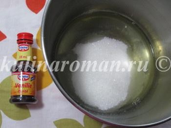 мокрое безе рецепт приготовления