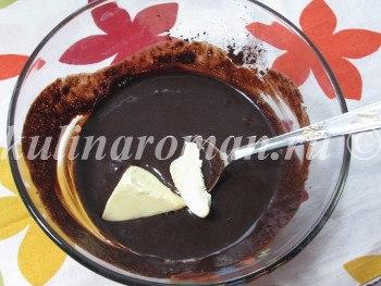 шоколадная глазурь с шоколадом