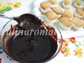 печенье в шоколаде
