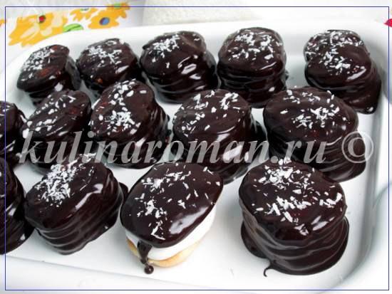 печенье чоко пай в домашних условиях