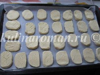 песочное печенье для чоко пай