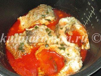 тушеная рыба пошаговый рецепт
