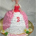 кукла торт из крема