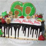 юбилейный торт на 60 лет