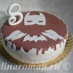 торт бэтман