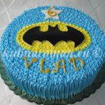 торт бэтмен из крема