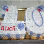торт цифра 10 для девочки