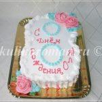 торт цифра 8 для девочки
