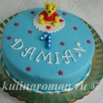 торт для мальчика на один год