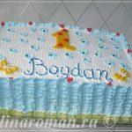 торт на один годик