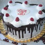 торт из крема для жены