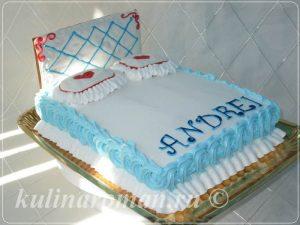 Торт кровать