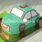 торт машинка для мальчика