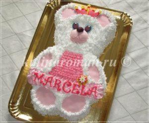 торт мишка для девочки