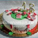 Торт на 18 лет девушке