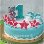 торт на один годик мальчику