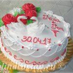 Торт на роспись