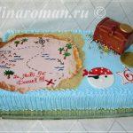 торт остров сокровищ