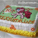 торт с пони пинки пай