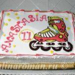 торт ролики