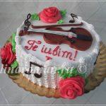 торт скрипка