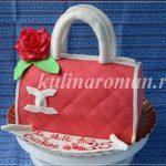 торт сумочка из мастики