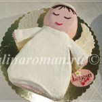 торт в виде ангела