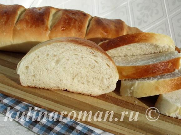 рецепт хлеба в духовке на кефире