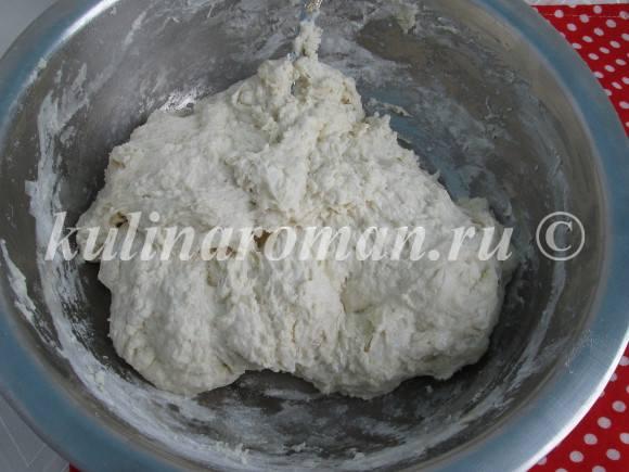тесто для хлеба дрожжевое