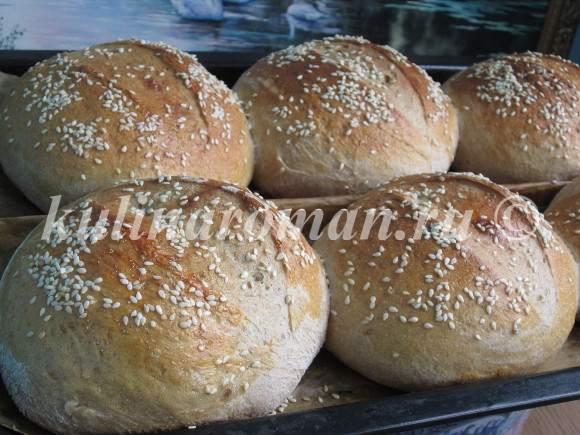 домашний хлеб из отрубей в духовке