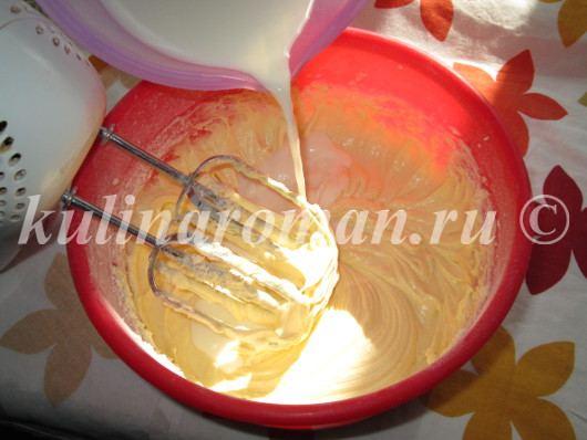 бисквит на молоке