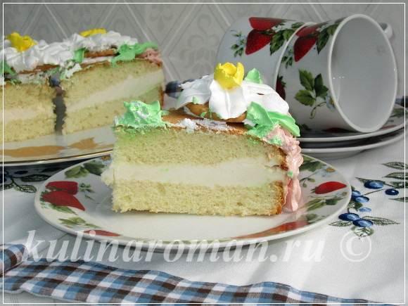 торт на 8 марта пошаговый рецепт