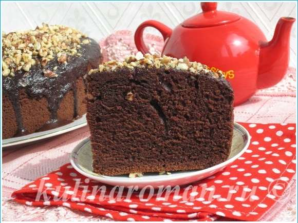 Влажный шоколадный бисквит рецепт с пошагово в
