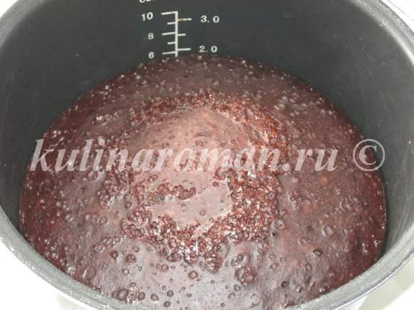 выпечка шоколадного кекса