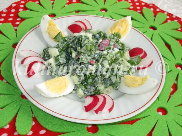 полезный салат
