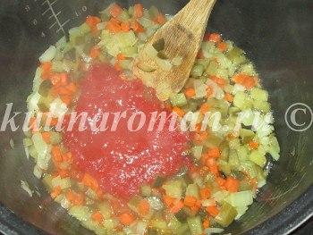 суп солянка в мультиварке