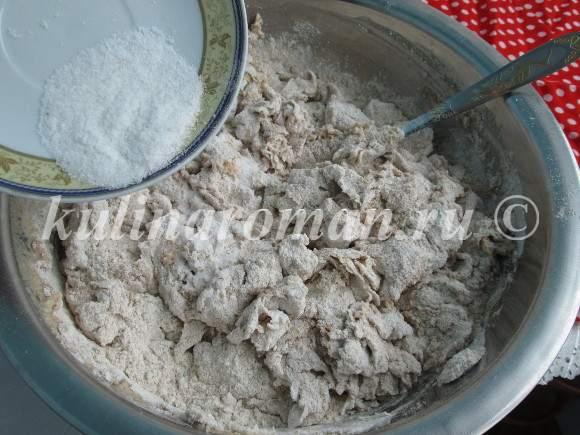 хлеб на воде пошаговый рецепт