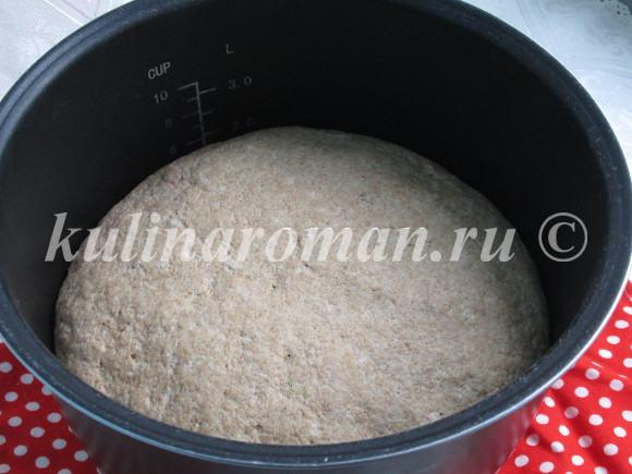 отрубной хлеб в мультиварке