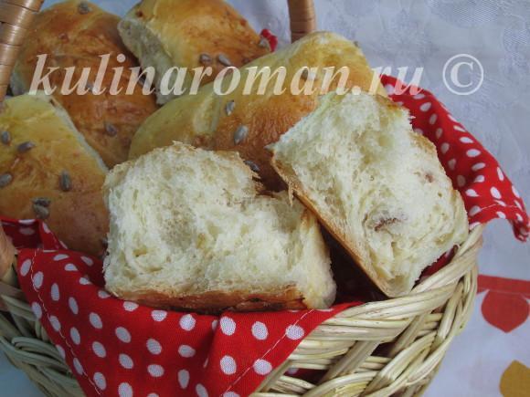 домашний хлеб с сыром в духовке