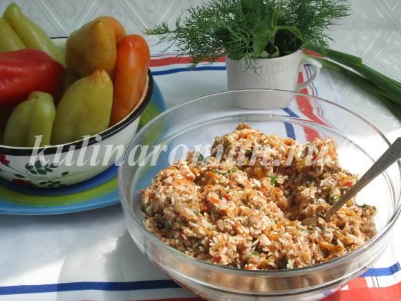 что приготовить из болгарского перца