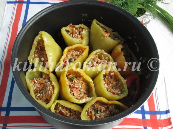 болгарский перец рецепт