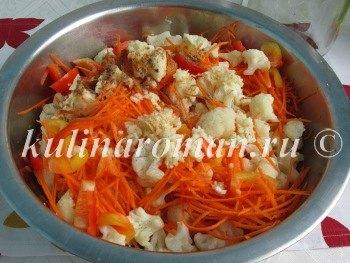 капуста по корейски рецепт