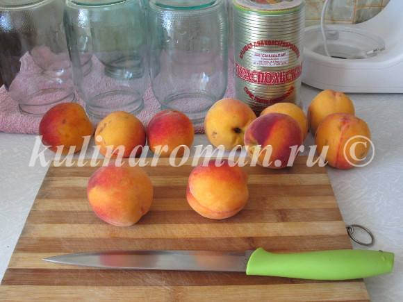 персики на зиму пошаговый рецепт